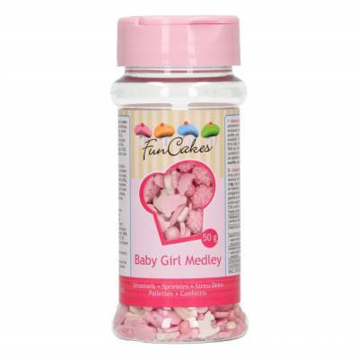 6883 - FunCakes sprinkle medley baby girl 50 gr
