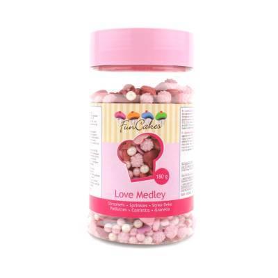 6903 - Cake Supplies Sprinkle Madley Love 180 gram