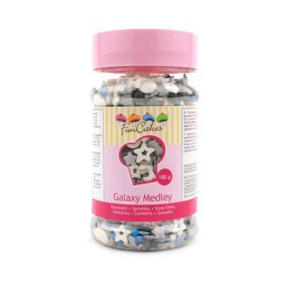 6904 - Cake Supplies Sprinkle Madley Galaxy 180 gram