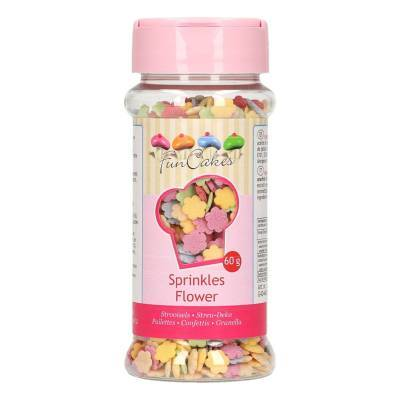 6907 - Cake Supplies Bloemen mix 90 gram