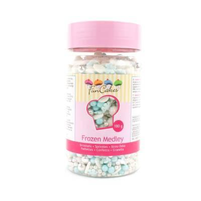 6909 - Cake Supplies Sprinkle Madley Frozen 180 gram