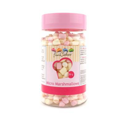 6911 - Cake Supplies Mirco Marshmallows 50 gram