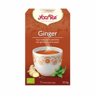 7529 - Yogi Tea Ginger 17 TB