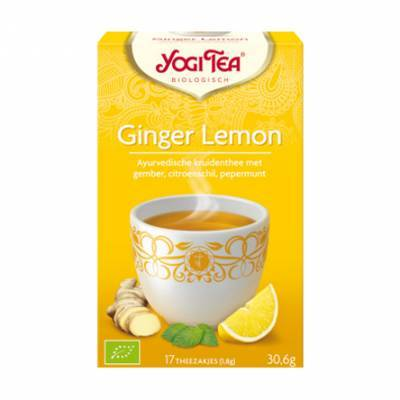 7531 - Yogi Tea Ginger Lemon 17 TB