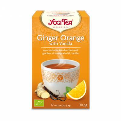 7532 - Yogi Tea Ginger Orange with Vanilla 17 TB