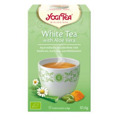 7595 - Yogi Tea White Tea with Aloe Vera 17 TB