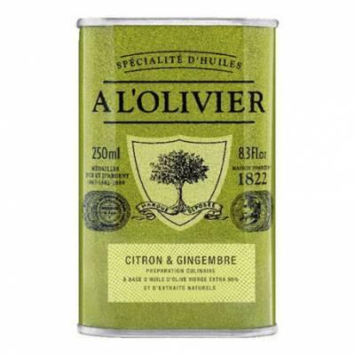 7860 - A l'Olivier olijfolie citroen mente 250 ml