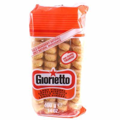 8019 - Giorietto italiaanse lange vingers 400 gram