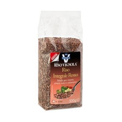 8107 - Riso Vignola riso integrale rosso 500 gram