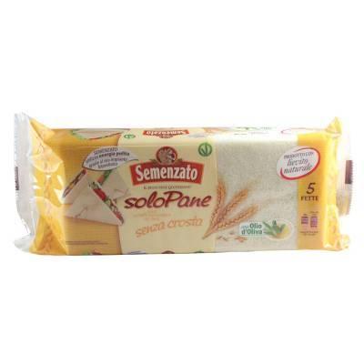8381 - Semenzato pane per tramezzini 250 gram