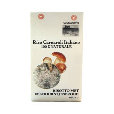 8489 - Naturalmente risotto eekhoorntjesbrood 250 gram