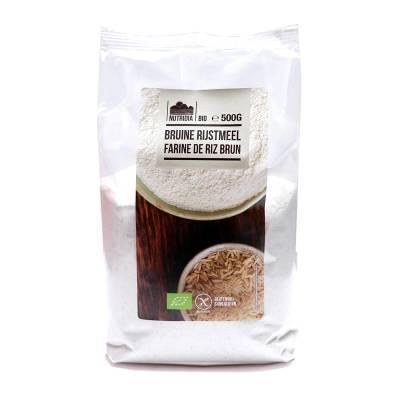 8831 - Nutridia bruine rijstmeel 500 gram