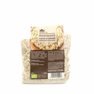 8875 - Nutridia boekweitvlokken 500 gram