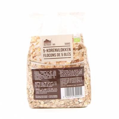 8880 - Nutridia 5-korenvlokken 500 gram