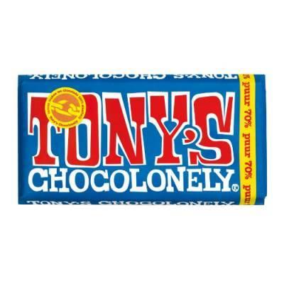 90005 - Tony's Chocolonely reep puur 180 gram