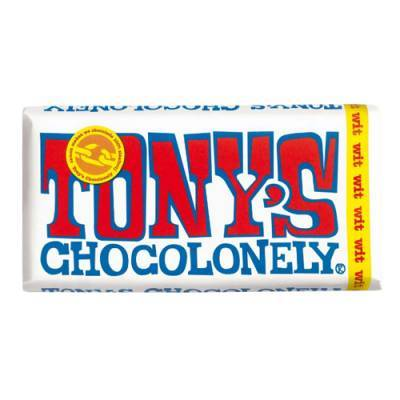 90008 - Tony's Chocolonely reep wit 180 gram