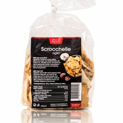 8395 - Deli Di Paolo scrocchelle aglio 200 gram