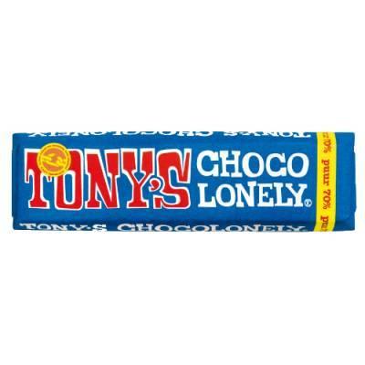 90041 - Tony's Chocolonely reep puur kleintje 50 gram