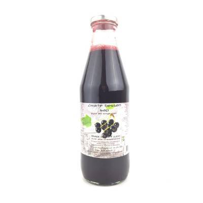 9038 - Dutch Cranberry Group oersap zwarte bes 750 ml