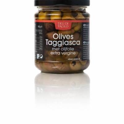 7865 - Deli Di Paolo olives taggiasca 180 gram