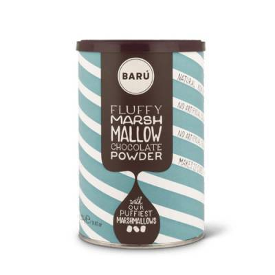 9122 - Barú fluffy marshmallow chocolate powder 250 gram