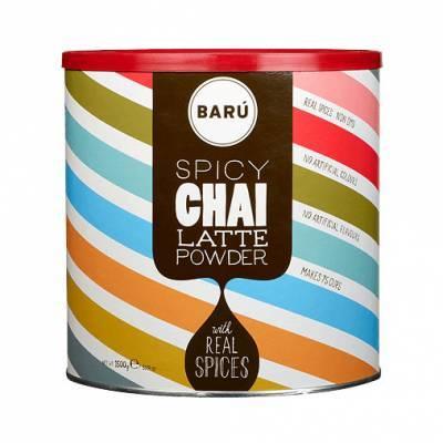 9126 - Barú spicy chai latte grootverpakking 1500 gram