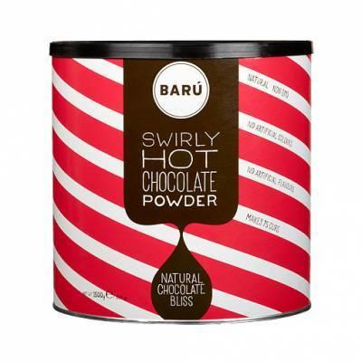 9128 - Barú swirly chocolate powder grootverpakking 1500 gram