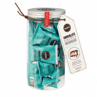 9185 - Barú gift jar marshmallows sea salt caramel 225 gram