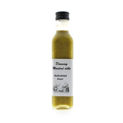 9386 - Verbruggen Dressing mosterd-dille 250 ml