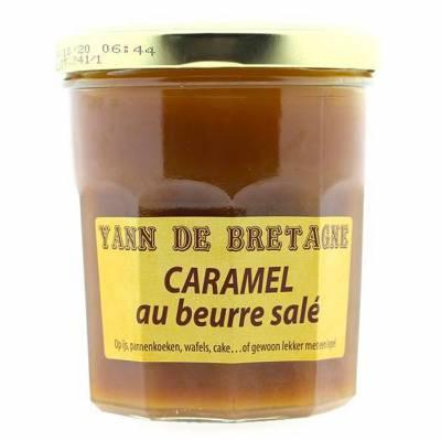 9400 - Yann De Bretagne caramel met zeezout 340 gram