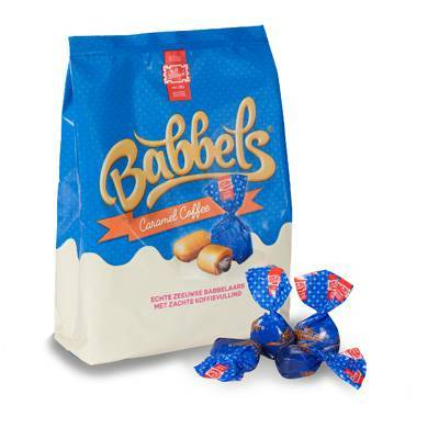 9527 - JB Diesch babbels met koffievulling 150 gram
