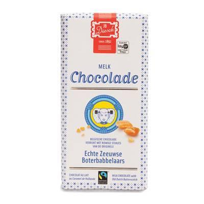 9529 - JB Diesch luxe chocoladereep melk 100 gram