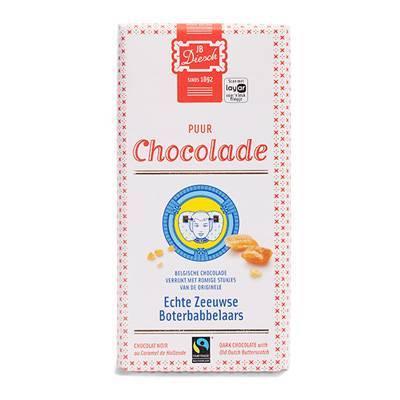 9530 - JB Diesch luxe chocoladereep puur 100 gram