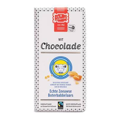 9531 - JB Diesch luxe chocoladereep wit 100 gram
