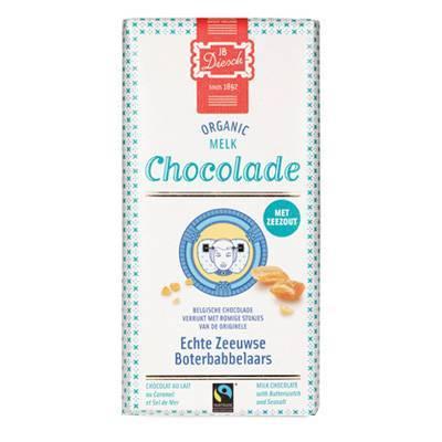 9533 - JB Diesch reep melk zeezout 100 gram