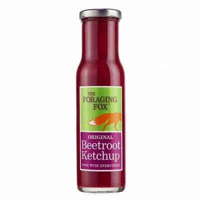 9657 - The Foraging Fox original beetroot ketchup 255 gr