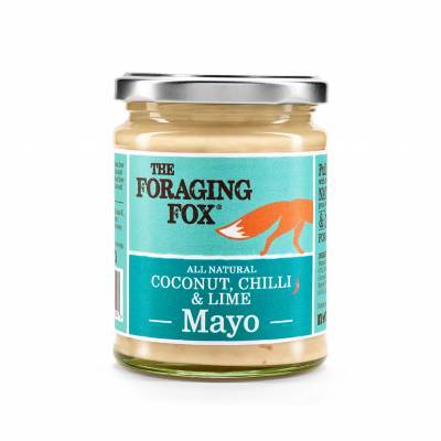 9659 - The Foraging Fox coconut, chilli & lime mayo 240 gr