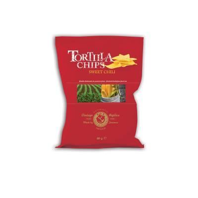 9933 - Fox Italia tortilla chips sweet chili 40 gr