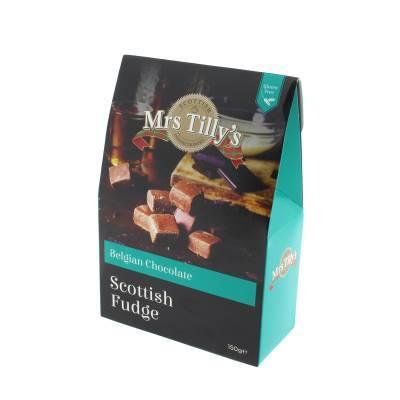 20803 - Mrs Tilly's chocolate fudge gift box 150 gram