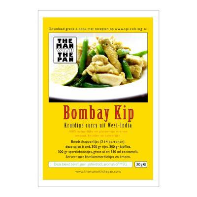 5970 - The Man with the Pan bombay kip sachet 30 gram