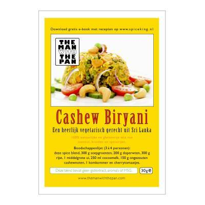 5975 - The Man with the Pan cashew biryani sachet 30 gram