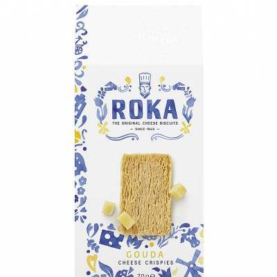 6560 - Roka cheese crispies gouda cheese 70 gram