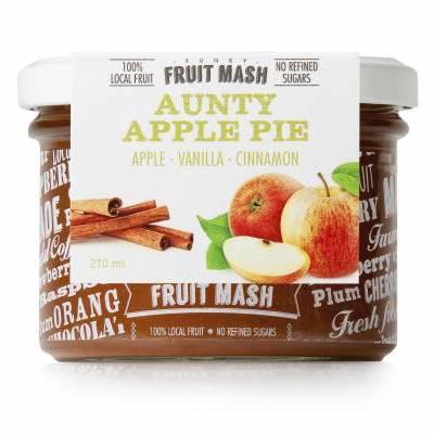 3556 - TLANT funky fruit mash aunty apple pie 210 ml