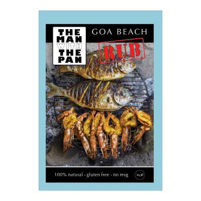 5992 - The Man with the Pan goa beach rub 30 gram