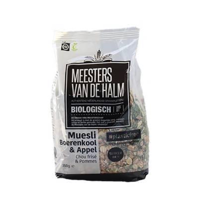 6596 - Meesters van de Halm Muesli boerenkool & appel BIO