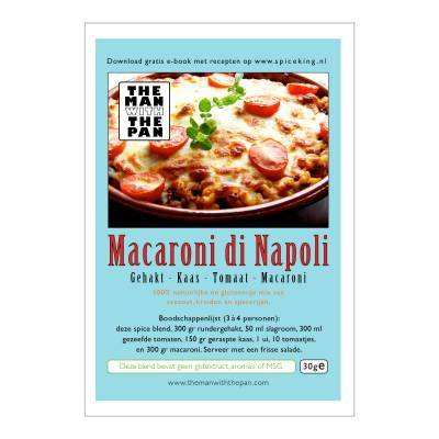 5971 - The Man with the Pan macaroni di napoli sachet 30 gram