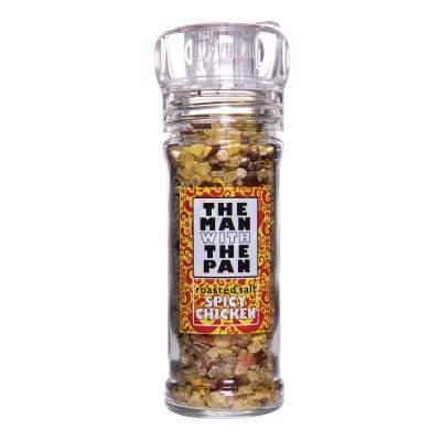 5930 - The Man with the Pan roasted bbq salt chicken met molen 80 gram