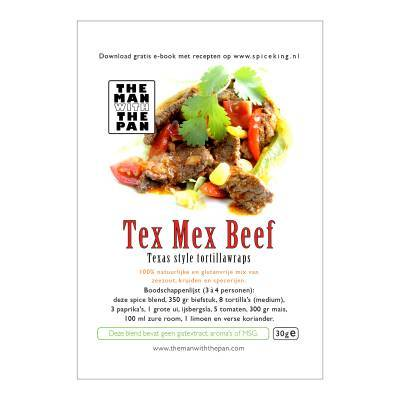 5973 - The Man with the Pan tex mex beef sachet 30 gram