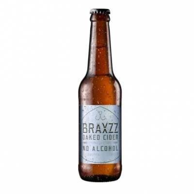 3976 - Braxzz Oaked Cider Alcoholvrij 33 cl