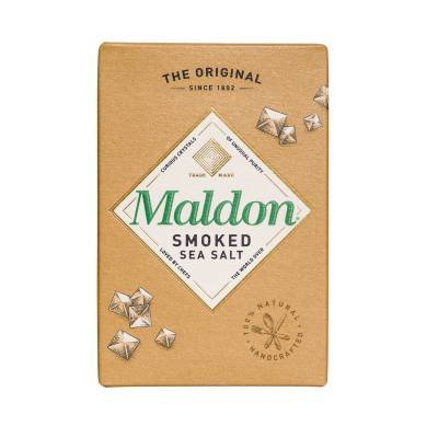 2343 - Maldon sea salt flakes smoked 125 gr